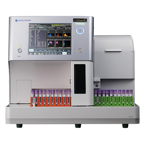Celltac G MEK 9100 hematology analyzer